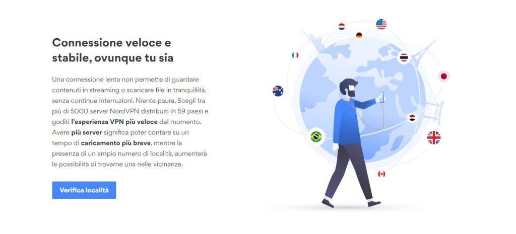 Nordvpn, oltre 5000 server in tutto il mondo