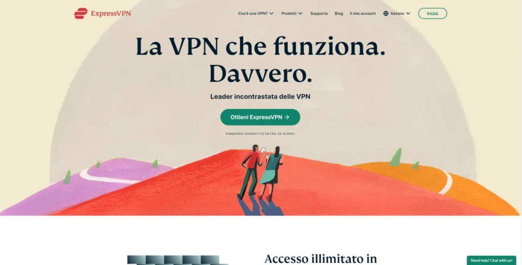 ExpressVPN nella classifica delle Migliori VPN